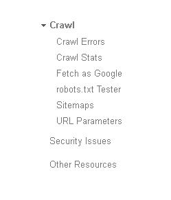 Opciones de Search Console sobre sitemap y robot.txt